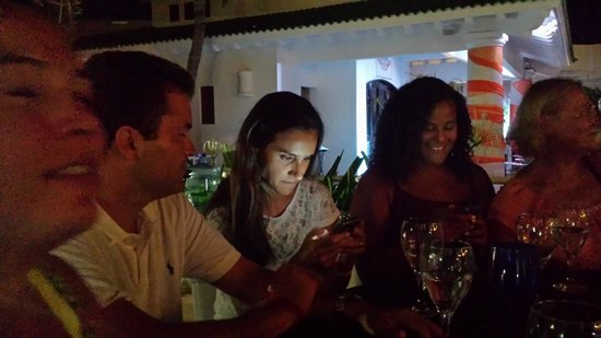 Sandos Cancun Luxury Resort: new friends from Brasil
