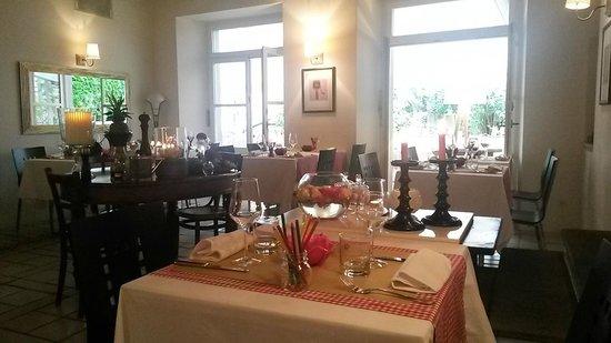 La Trattoria : inside of the restaurant