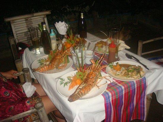 My place bar&restaurant: super langouste
