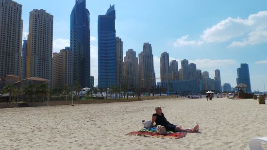 JA Oasis Beach Tower: Jumeira beach