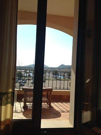 La Vecchia Fonte Hotel: view to marina from our room