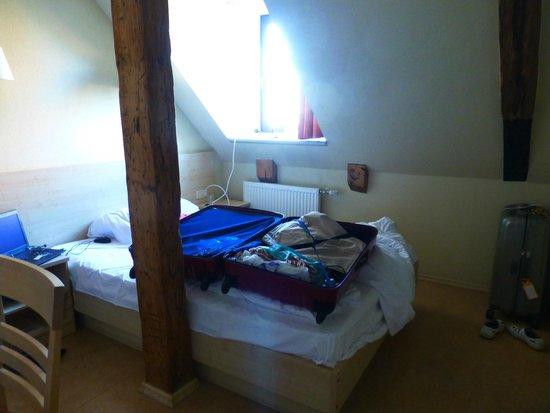 Kolonna Hotel Riga: Our room