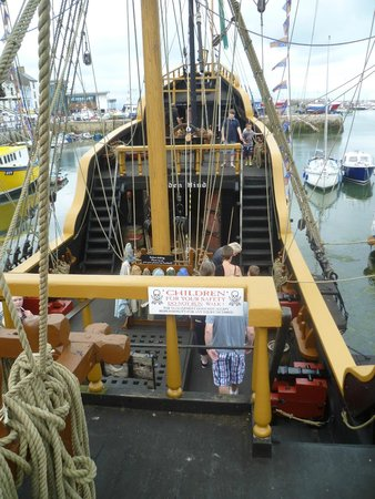 Golden Hind Museum Ship: Onboard