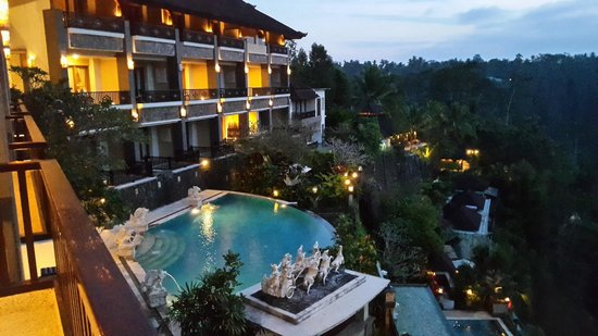 Rijasa Agung  - Bali Ubud Luxury Hotel Resort Villa: It's taking from our room