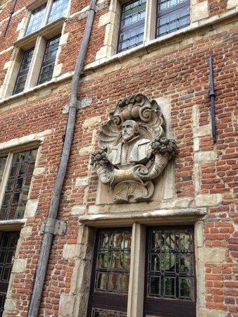 Le musée Plantin-Moretus : le buste de Christophe Platin