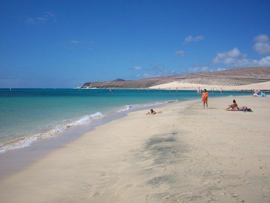 Playa de Sotavento : Risco del paso