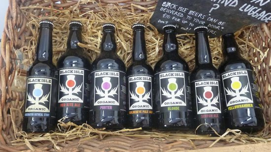 Black Isle Brewery: 3 take them all in your pic-nic basket :-)