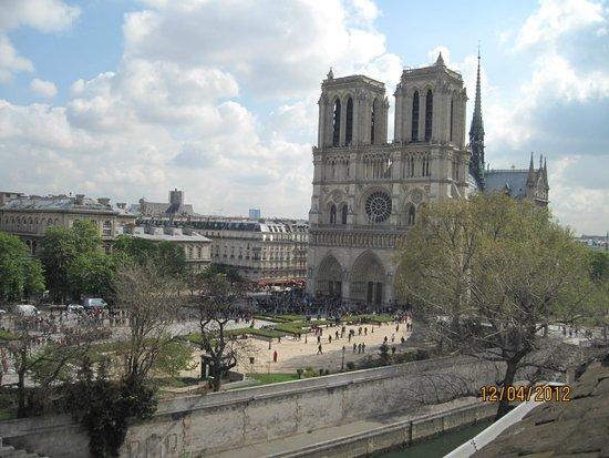 Hotel le Notre Dame: vista dalla camera