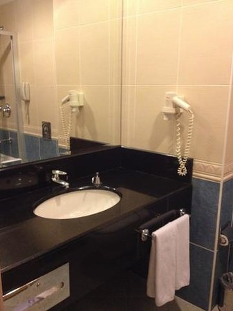 Metropolitan Hotel Ankara: bathroom
