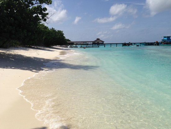 Reethi Beach Resort: Another View from our Villa