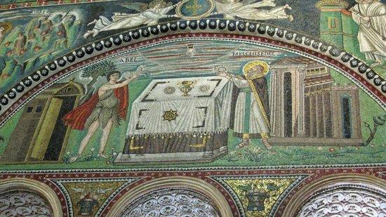 Basilica San Vitale: Abel and Melchizedek