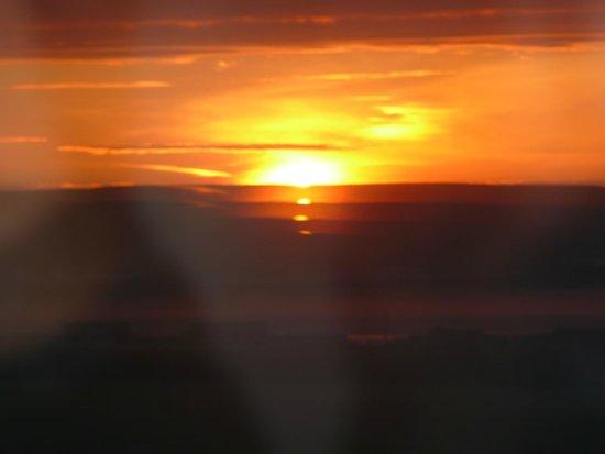 Skara: sunset from room