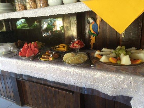 Pousada Cauca: Petit Déjeuner