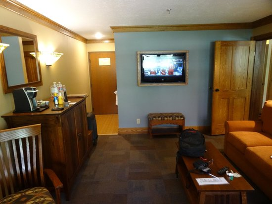 Zion Lodge : Part of the suite (2)