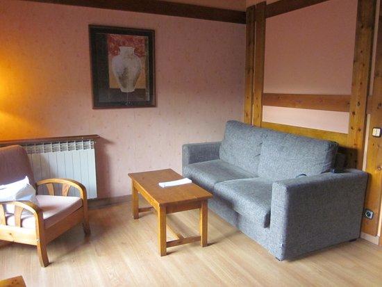 Hotel Anyos Park: le coin salon