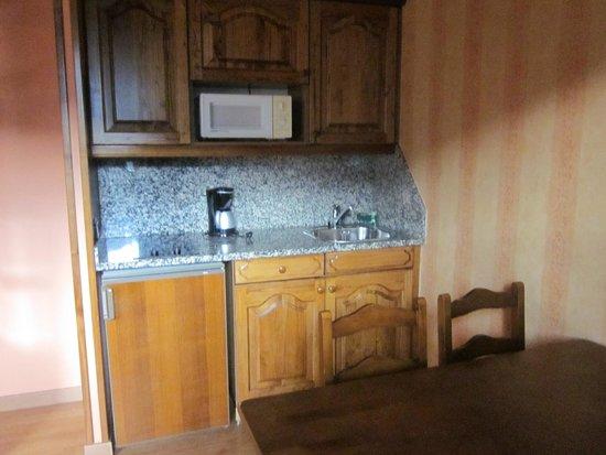 Hotel Anyos Park: le coin cuisine