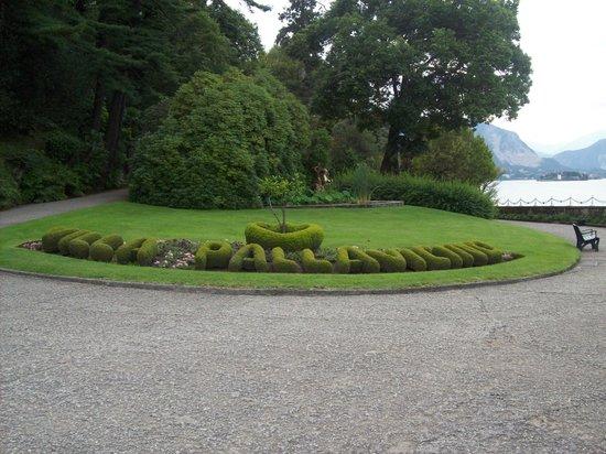 Parco della Villa Pallavicino : Benvenuti