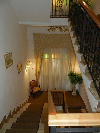 Hotel Villa Garden: The stairs