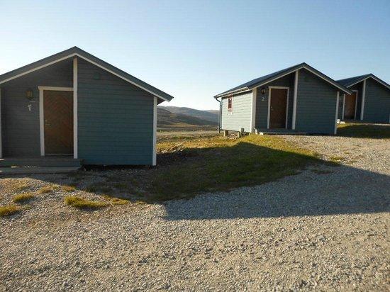 Nordkapp Caravan Og Camping : Cottage in legno.