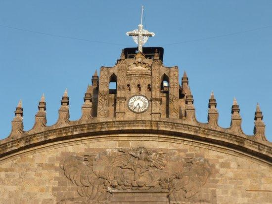 Catedral Metropolitana: Верхняя часть фасада