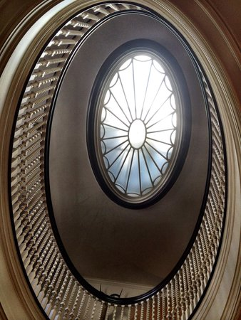 George Eastman Museum : The remarkable view of stairwell.