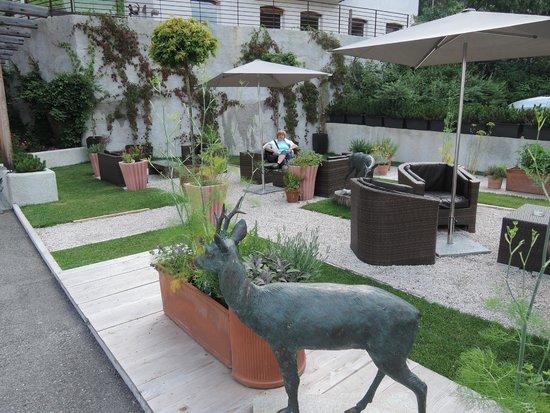 Smart Hotel Saslong: giardino