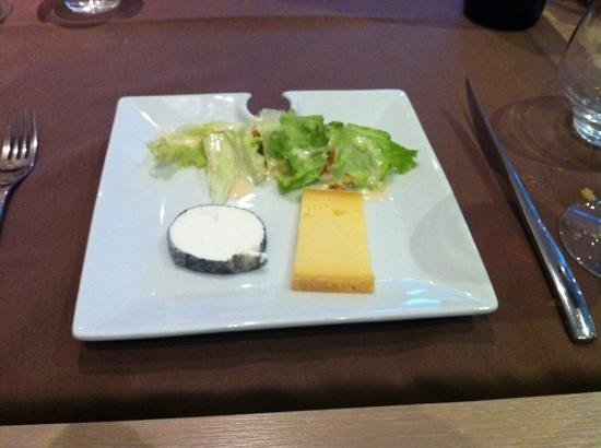 Le Relais Saint-Jacques: armetierig kaasplankje, too little cheese!