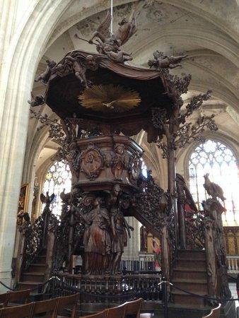 Liebfrauenkathedrale (Onze-Lieve-Vrouwekathedraal): Cathédrale Notre-Dame d'Anvers : la chaire