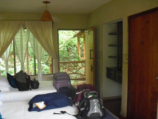 Rio Chirripo Retreat: my room
