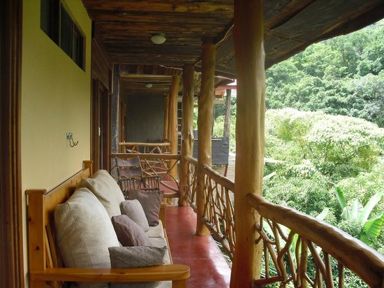 Rio Chirripo Lodge & Retreat: my balcony