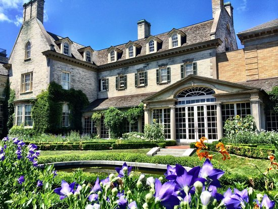 George Eastman Museum: The backyard is nice!