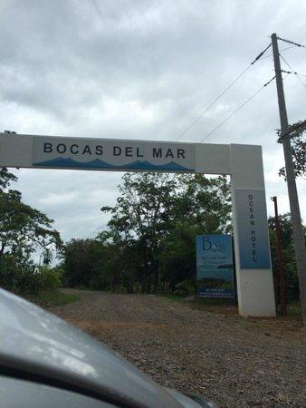 Hotel Bocas del Mar: the front door! finally arrived