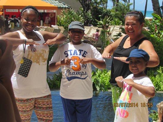 Sheraton Waikiki : hula lessons