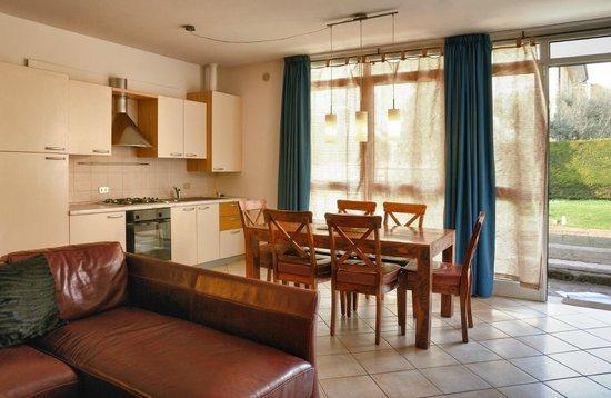 Residence Campana : living/Kitchen