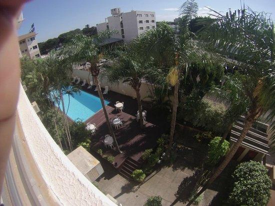 Líder Palace Hotel: Area da piscina