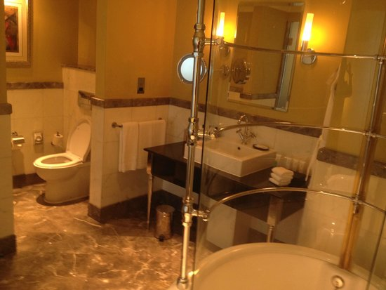 Le Royal Meridien Abu Dhabi: Bathroom