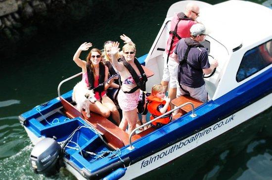 Falmouth Boat Hire: Farewell!