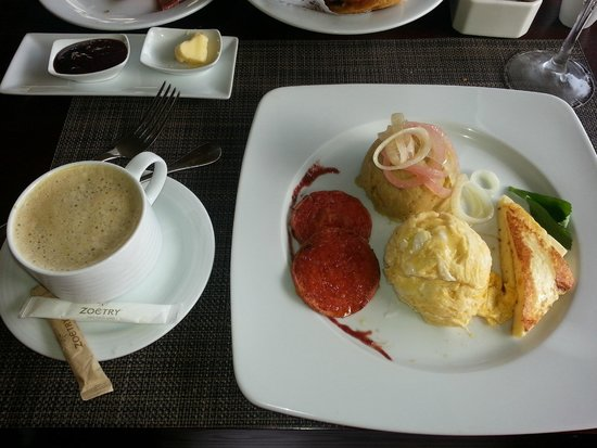 Zoetry Agua Punta Cana: Yummy dominican breakfast!