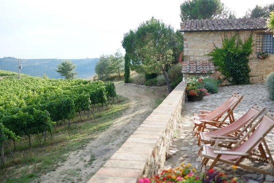 Borgo Argenina: Courtyard of the Main building