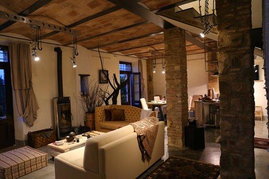 Borgo Argenina: Living Room of the Villa