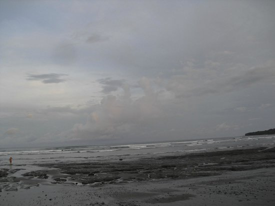 the main beach close to boca sombrero