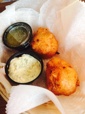 George's of Galilee: Clam Cake Fritters