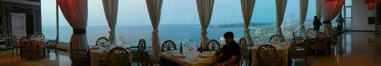 Tryp Habana Libre: Restaurant Sierra Maestra, piso 25