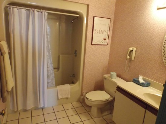 bathroom picture of hermann 39 s hotel cadillac tripadvisor