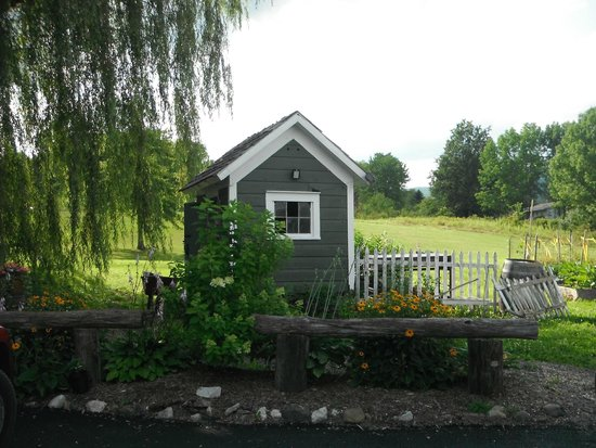 Inn At The Ridge : my little dream shed.