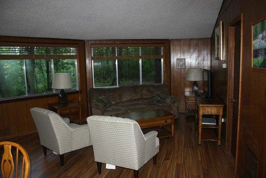 Barnwell State Park: living room