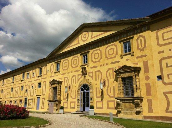 Villa Le Maschere: La bâtisse principale