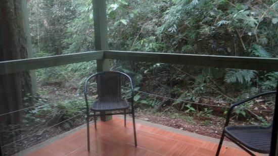 La Cantera Jungle Lodge: balconcito en la habitación