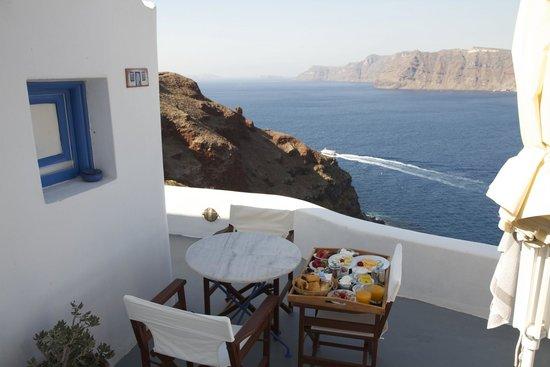 Terrace of Room 118 - Esperas, Oia, Santorini
