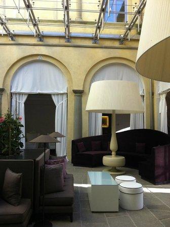 Villa Le Maschere: Le lobby